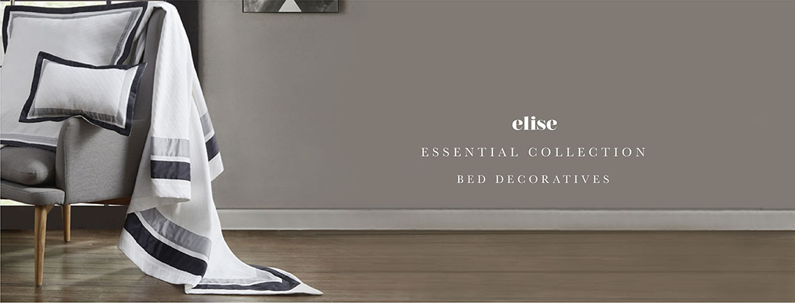 elise: Essential Bed Decoratives