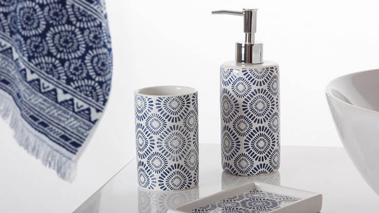 Sorema - Indigo Bath Accessories
